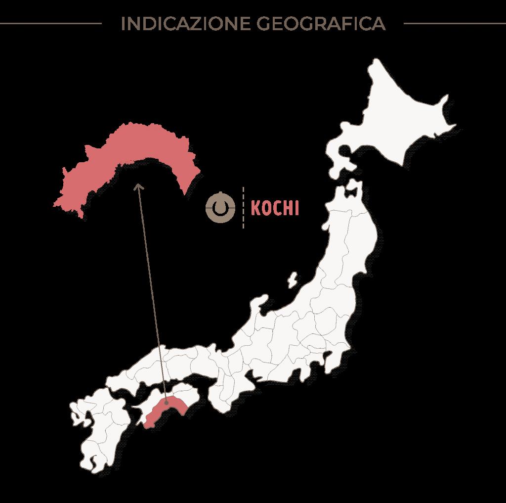 Indicazione geografica produzione sake: Kochi