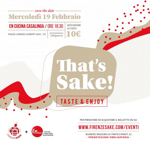 evento Firenze Sake - 19 Febbraio 2020