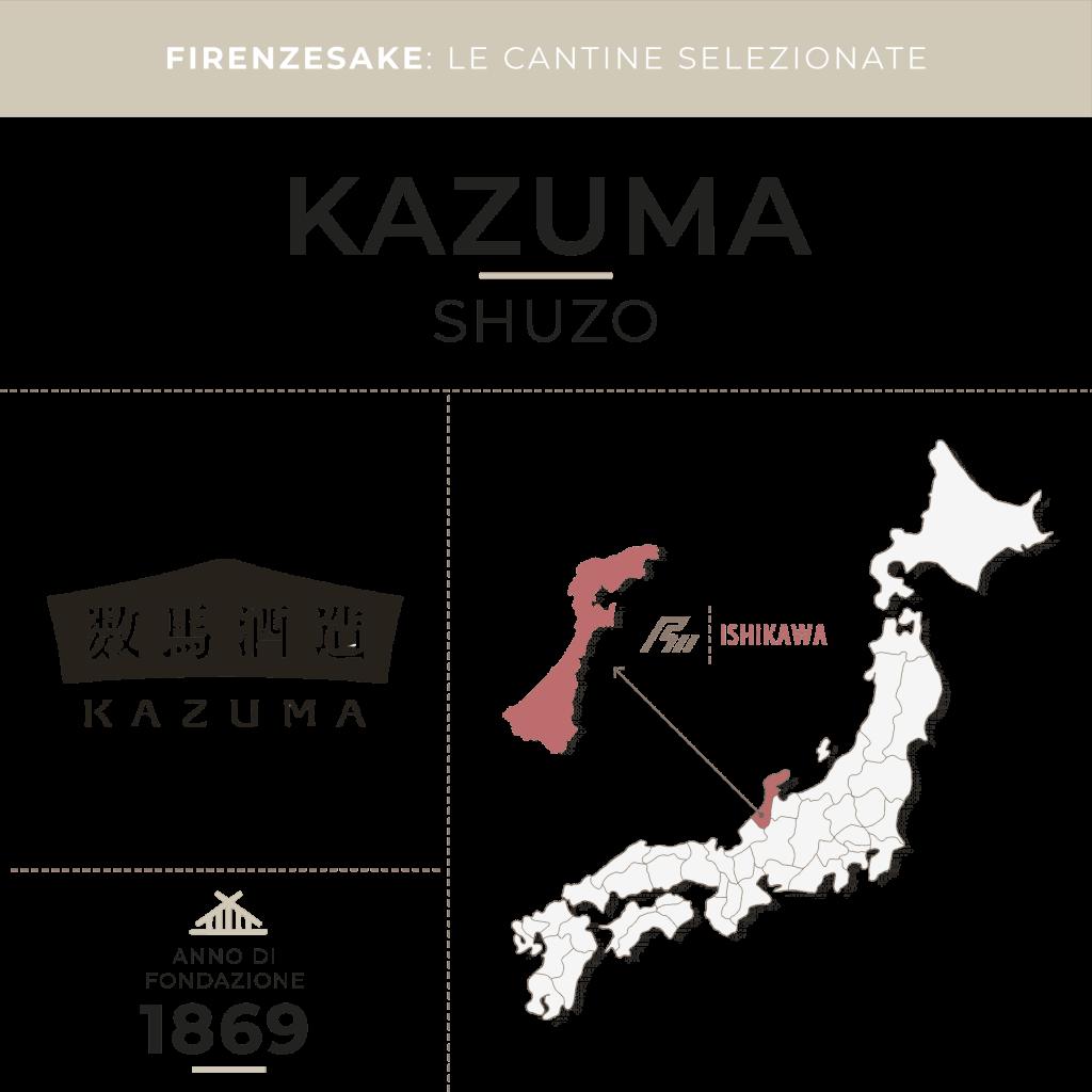 Firenze Sake le cantine: Kazuma